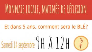 Deuxième activité de réflexion autour du BLÉ @ Centre Jacques-Cartier